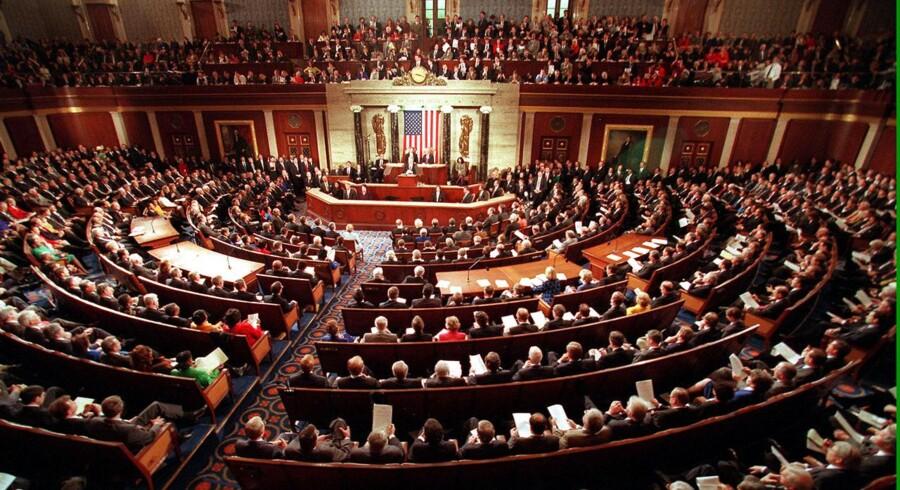 Den amerikanske kongres skal igen stemme om gældsloftet.
