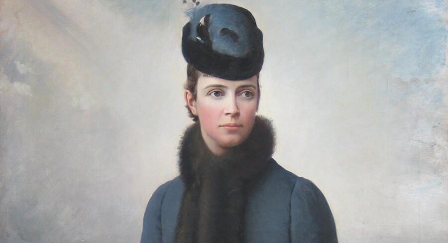 Dagmar eller Maria Fjodorovna, 1847-1928. Malet af Aleksej I. Korzuhin, 1885.