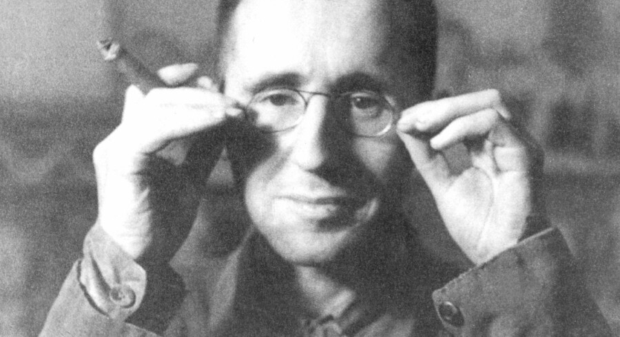 (FILES) Bertold Brecht, German radical theater reformer, founder and director of the Berliner Ensemble, the former East Berlin theater, in file picture taken in Berlin in 1931. Brecht, who was born in Augsburg, south Germany, in 1898, returned from exile in the United States after WW II to then Soviet-occupied East Berlin in 1948. The poet and playwright, who was renowned for his outspoken Marxism and revolutionary experiments in theater, died in East Berlin in 1956. A series of events, including exhibitions, conferences and documentaries, mainly at the Berliner Ensemble are to mark the centenary of Brecht's birth on February 10, 1898.