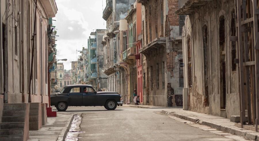 Havana i Cuba er slidt og billedskøn og en af de syv NewWonder Cities.