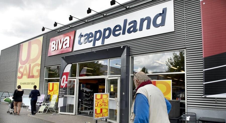 Biva Tæppeland søger en ny ejer efter koncernen blev ramt af konkurs. Men de købere der har meldt sig indtil videre er blevet afvist. Budende var ikke høje nok.