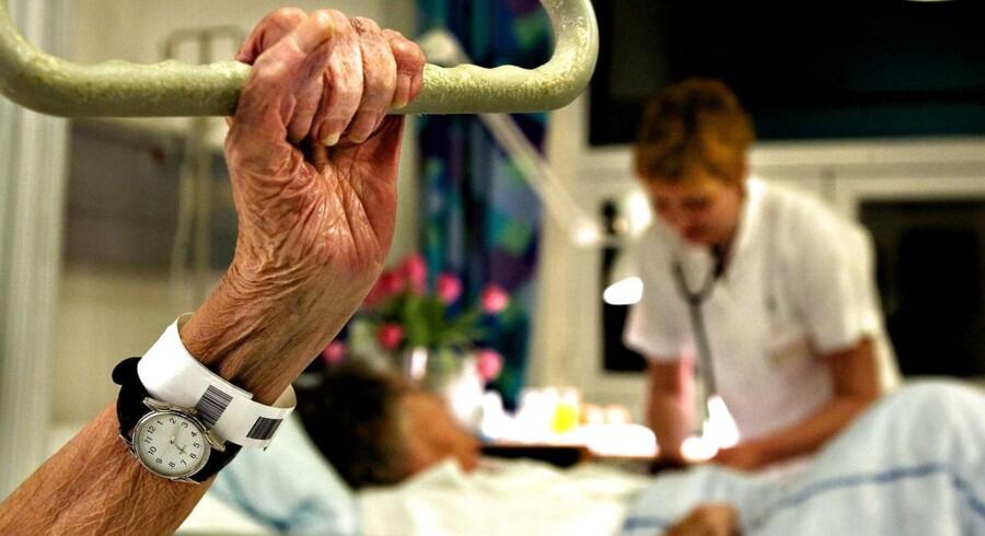 ARKIVFOTO. Sundhedsminister Nick Hækkerup anbefaler flere patienter og pårørende til at klage over fejl i sundhedsvæsenet. (Foto: Søren Bidstrup/Scanpix 2013)
