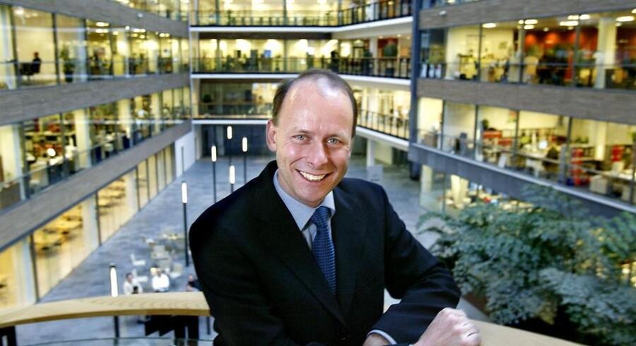 Klaus Holse forlader Microsoft for at blive ny topchef i SimCorp. Arkivfoto: Bjarke Ørsted, Scanpix