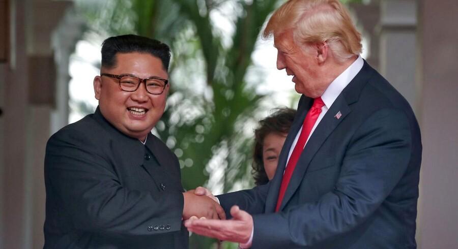 Både Rusland og Kina ser positivt på topmødet mellem USA og Nordkorea.