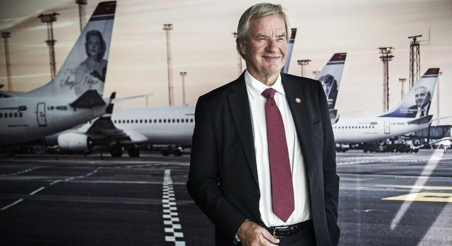 Norwegians adm. direktør Bjørn Kjos.