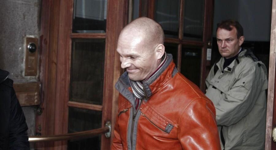 Stein Bagger skulle være afhørt i dag, men planen er, at det i stedet vil finde sted mandag formiddag, hvor sagen ruller videre. Her ses han træde ud fra Københavns Byret.