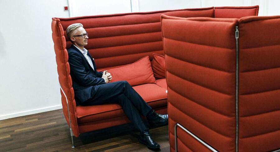 Tryg, med direktør Morten Hübbe i spidsen, åbner den danske regnskabssæson med sine førstekvartalstal onsdag morgen.