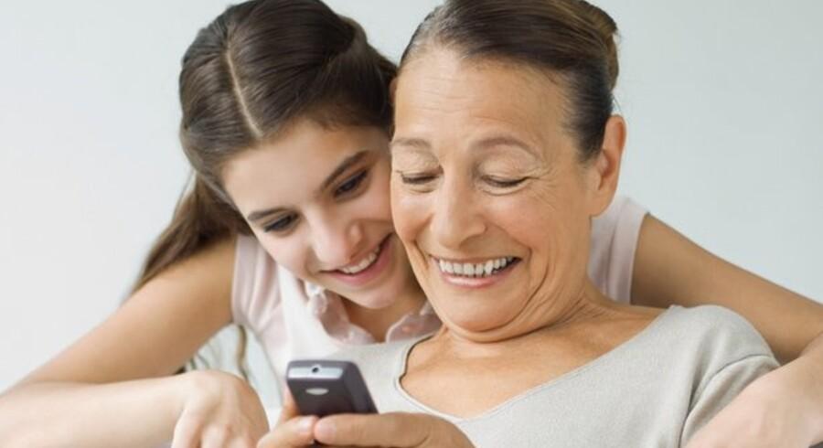 """""""God jul og godt nytår."""" SMS-beskeden er blevet en favorit til at sende sine medmennesker en hyggelig hilsen."""