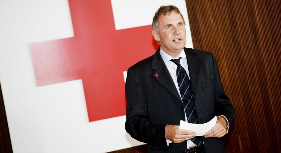 Arkivfoto. Generalsekretær Anders Ladekarl, Røde Kors.