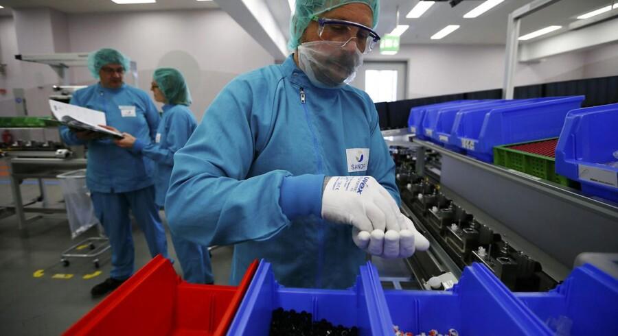 Sanofi leverer fremgang trods fald i diabetes-salg