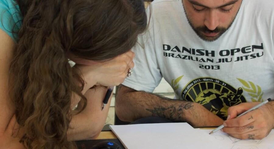 Tegneserieskolen skal ledes af Halfdan Pisket. PR-foto