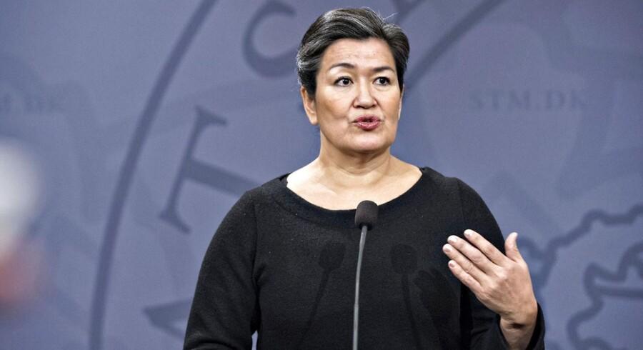 Folketingsmedlem Aleqa Hammond (SIU) mener, at Danmark diskriminerer mod grønlændere.