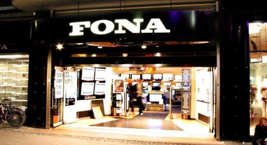 Danskernes glæde ved elektronik sikrer Fona fremgang.