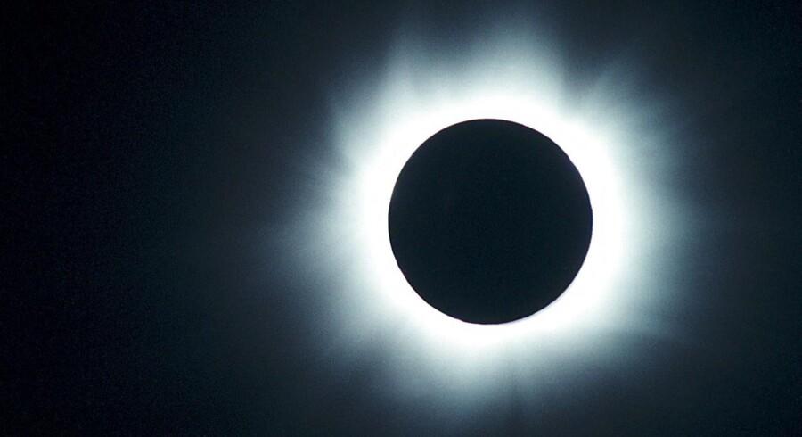 Du risikerer at ødelægge dit kameras sensor, hvis du fotograferer direkte mod solen.