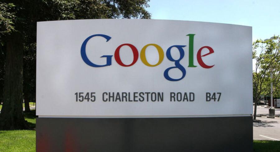 Nedgangen rammer nu også verdens største Internet-firma, Google, som skærer ned og lukker kontorer. Foto: Scanpix