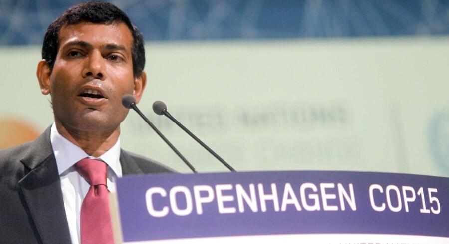 Maldivernes ekspræsident Mohamed Nasheed, vakte opsigt på klimatopmødet i København, da han gjorde sig til Danmarks nære allierede i kampen for ambitiøs klimaaftale.