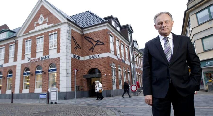 Jan Ulsø Madsen, bankdirektør i Vestjysk Bank.