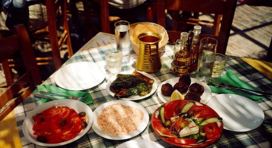 Hjemmelavet græsk mad når den er bedst.
