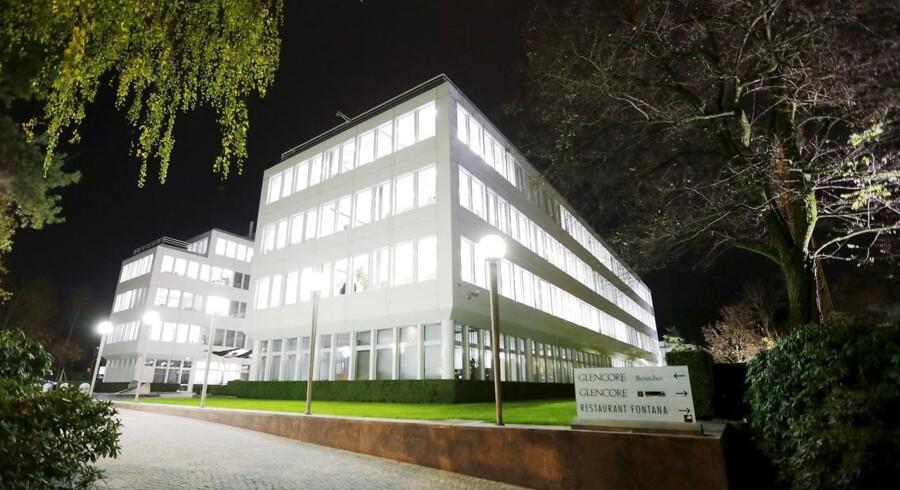 Glencores hovedkvarter i Schweiz