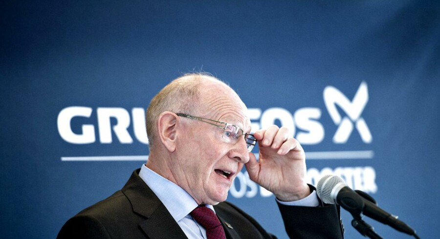 Grundfos' administrerende direktør Niels Due Jensen