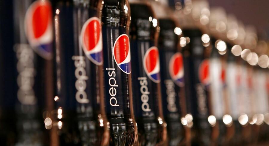 Arkivfoto: Pepsi flasker.