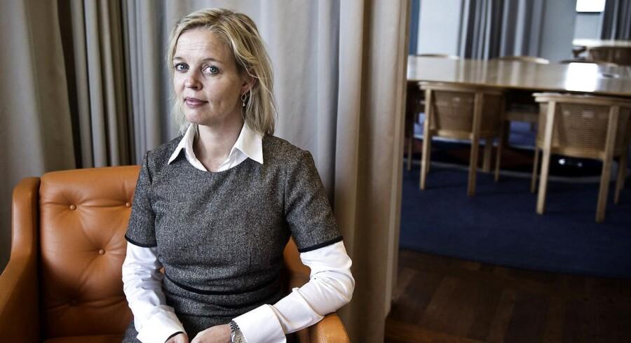 Pernille Erenbjerg, finansdirektør i TDC.