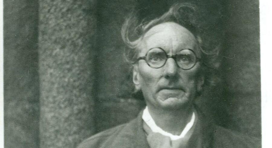 Rued Langgaard. Foto fra Bogen