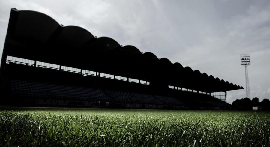 Hvidovre stadion fotograferet torsdag den 22. august 2014. (Foto: Mads Nissen/Scanpix 2014)
