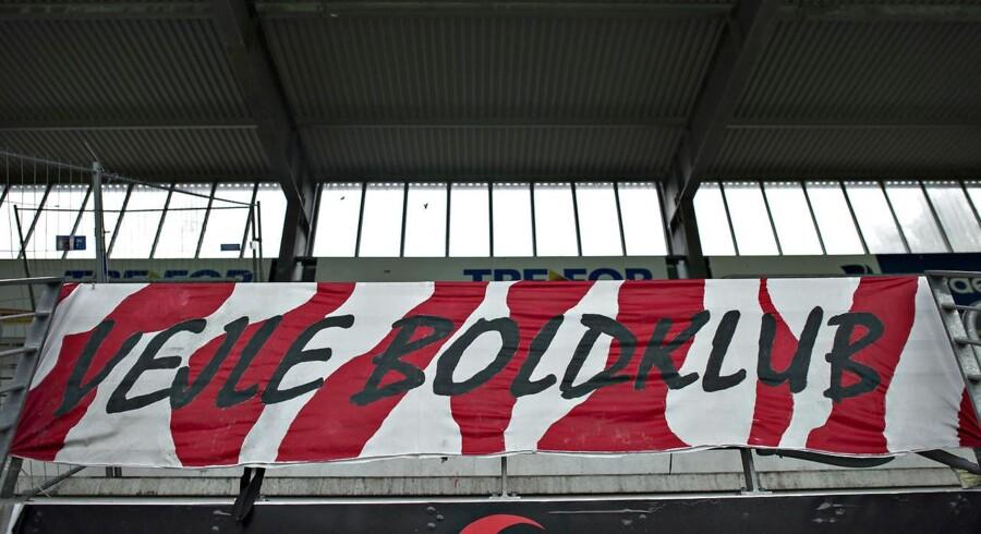 Arkivfoto. Vejle er med en sejr hjemme over FC Fredericia tilbage på førstepladsen i den næstbedste danske fodboldrække.