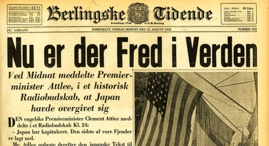 Berlingske har været i arkiverne og har gravet en række avisforsider frem fra Anden Verdenskrig.