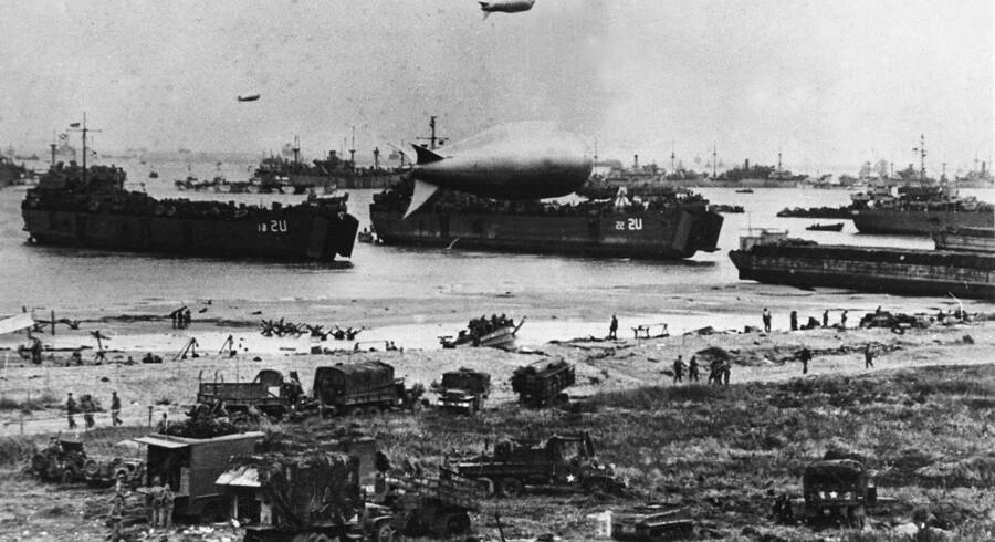 De allieredes landgang i Europa, der også gik under kodenavnet Operation Neptune, skulle oprindeligt udføres den 5. juni 1944. Men på grund af dårligt vejr måtte man udskyde hele operationen med en dag.