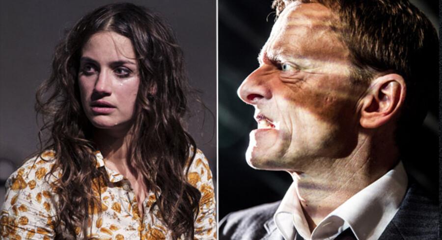 Årets to skuespillere, Danica Suric og Olaf Johannesen. Se flere af årets bedste i artiklen.