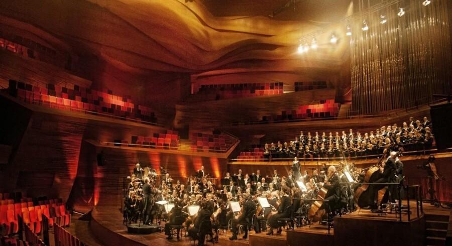DR SymfoniOrkestret behøvede knap nok gæstestjerner torsdag. Arkivfoto: Per Morten Abramhamsen