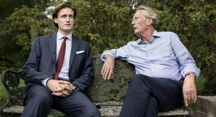 Det ældgamle firma Jacob Hom & Sønner ejes i dag af den velhavende familie Mikkelsen - far og søn, Poul og Martin