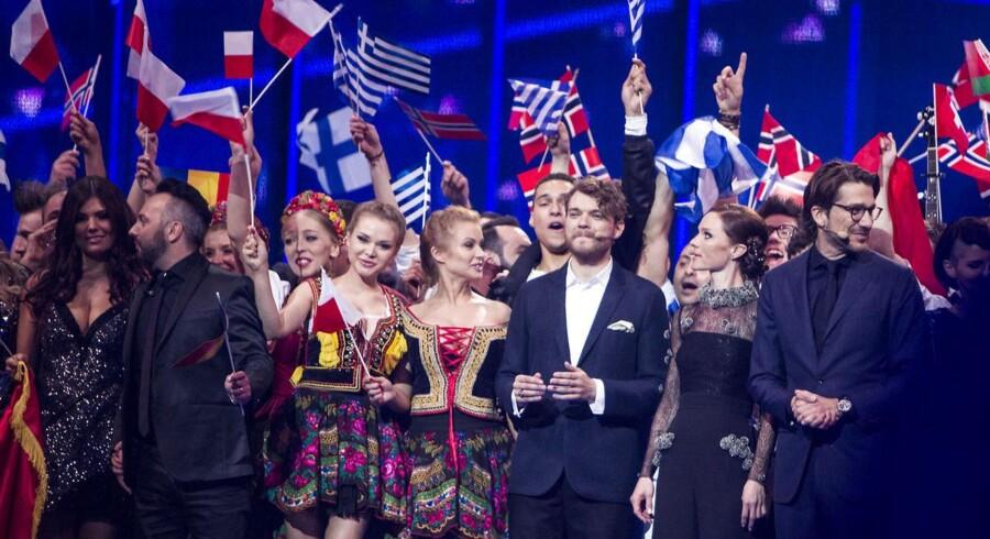Glade finalister, som torsdag aften blev stemt videre til Eurovision-finalen lørdag.