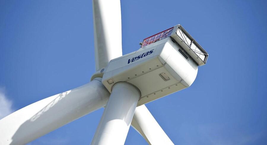 ARKIVFOTO 2009 af Vestas vindmølle- ( Anders Runevad, Vestas-chef, kritiseres for at være for tavs omkring virksomhedens mål og visioner. (Foto: Henning Bagger/Scanpix 2014)