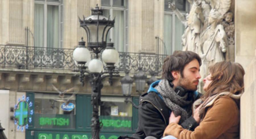 Grønt forår i Paris.