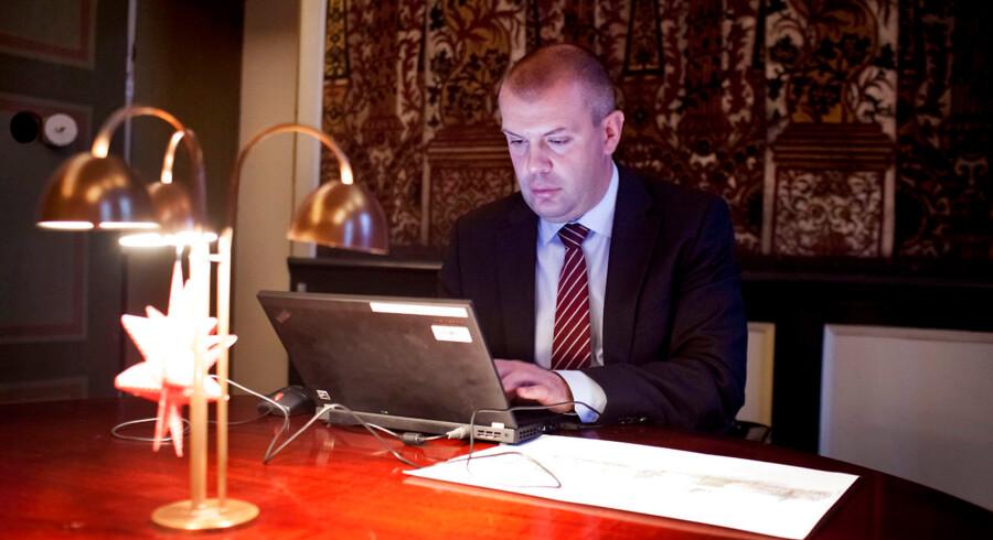 Finansminister Bjarne Corydon chatter med BTs læsere, efter at regeringen har indgået en aftale om finanslov med de borgerlige.