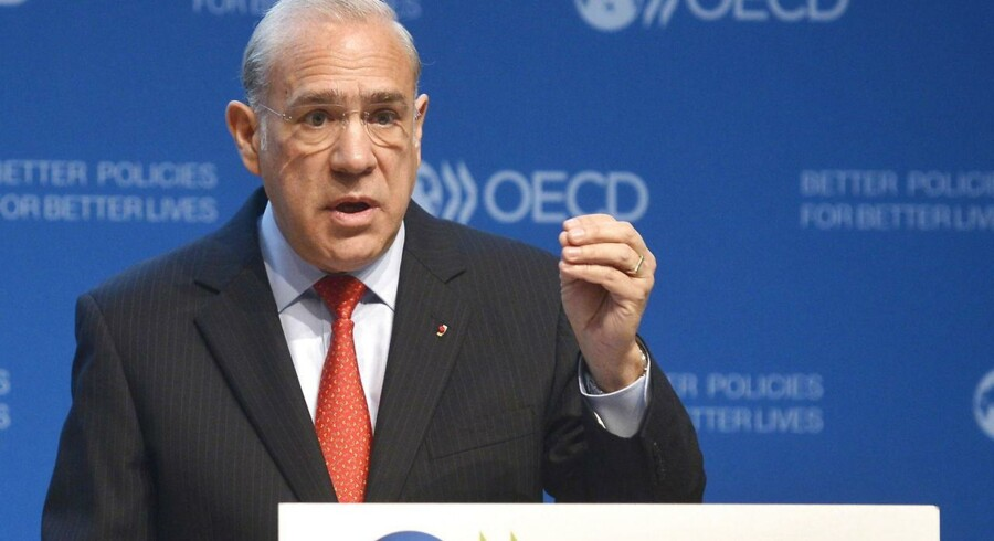 OECD Secretary General, Jose Angel Gurria.