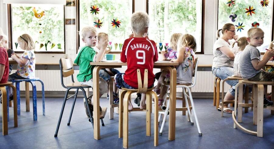 """Arkivfoto fra børnehaven """"Ahornhuset"""" i Hørsholm."""