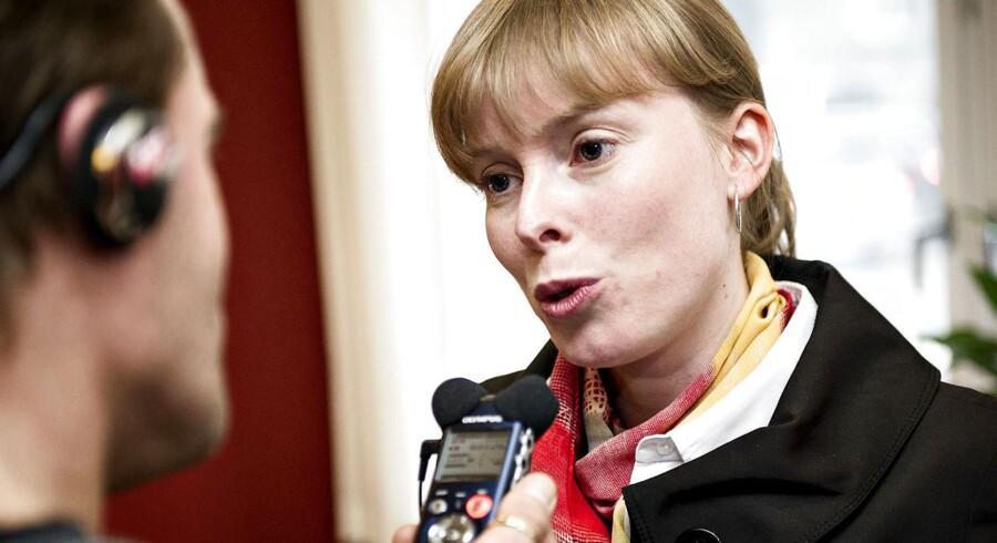 Roskildes borgmester, Joy Mogensen (S) og hendes parti fik et godt valg.
