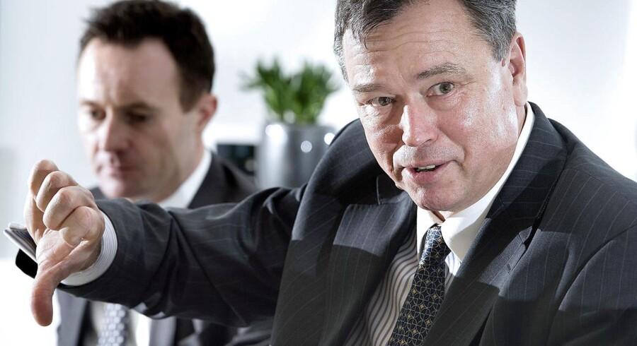 Novozymes administrerende direktør Peder Holk Nielsen