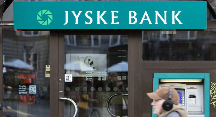 Hos Jyske Bank kom det tirsdag frem, at man i IT-afdelingen forbereder sig på at gøre systemerne klar til at behandle minusrenter for privatkunder. Arkivfoto: Jens Nørgaard Larsen