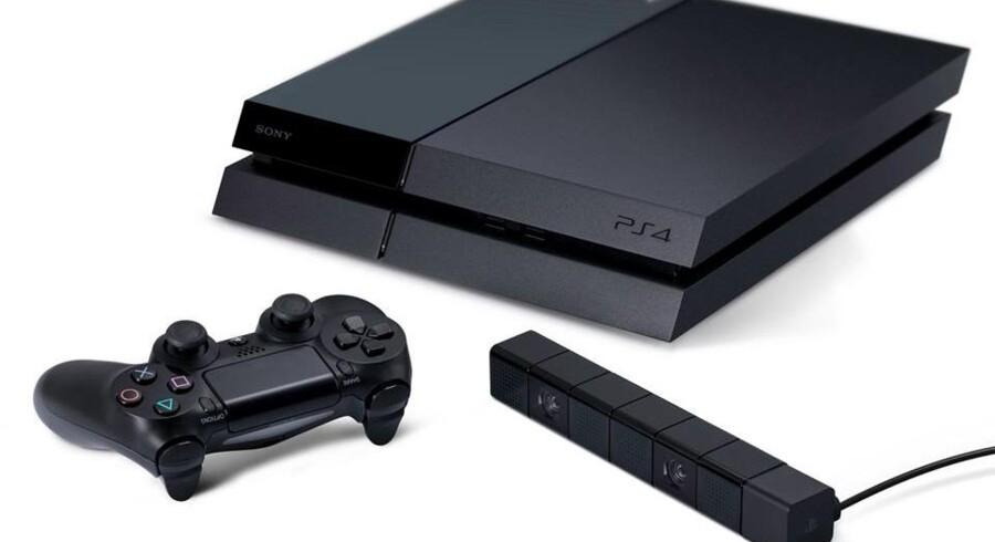Playstation 4 (billedet) når den danske julehandel - det gør Xbox One ikke. Foto: Sony