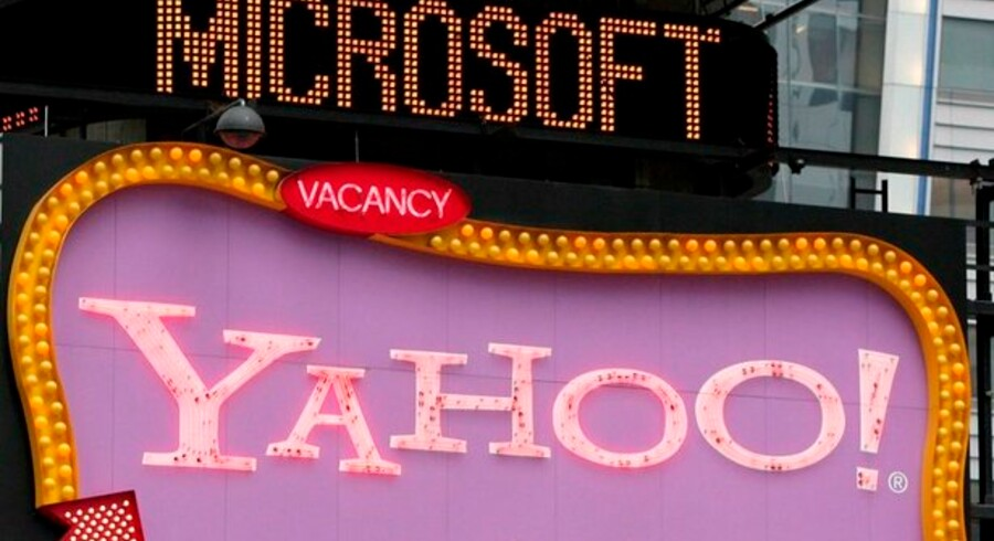 Hos både Microsoft og Yahoo er man lkkedelige  for den nye internet-alliance, men investorerne deler ikke begejstringen.