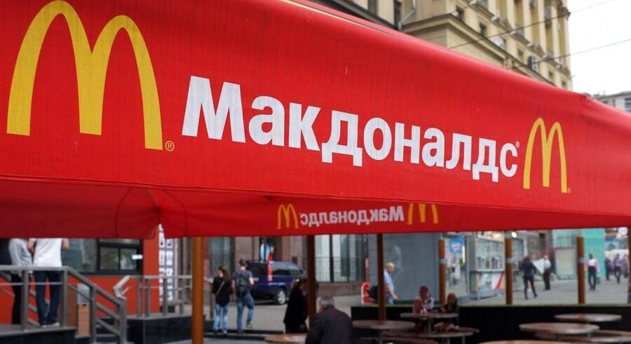 Rusland har igangsat mere end 200 undersøgelser af McDonald's-restauranter som svar på vestens sanktioner.