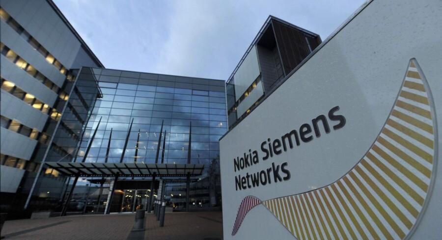 Nokia Siemens Networks med hovedkvarter i Espoo uden for Helsinki er en af verdens største leverandører af teleudstyr. Arkivfoto: Vesa Moilanen, Lehtikuva/AFP/Scanpix