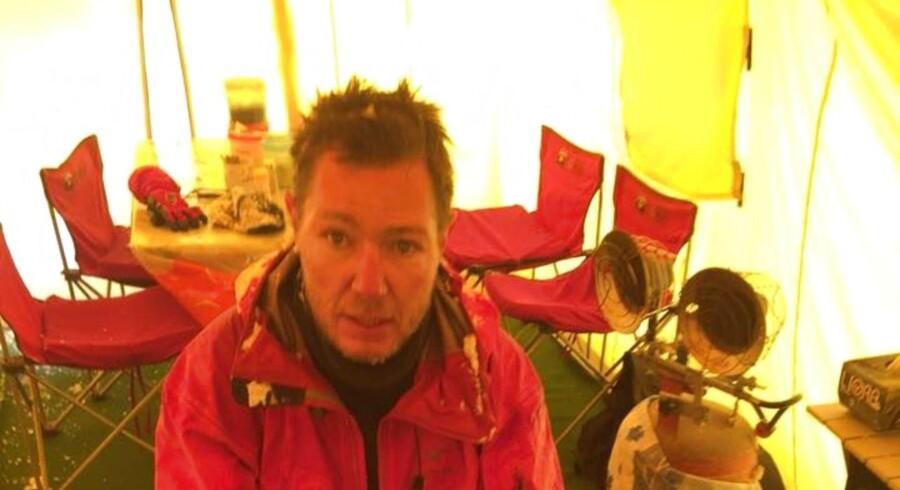 Carsten Lillelund Pedersen, Bjergbestiger. Foto: Privat