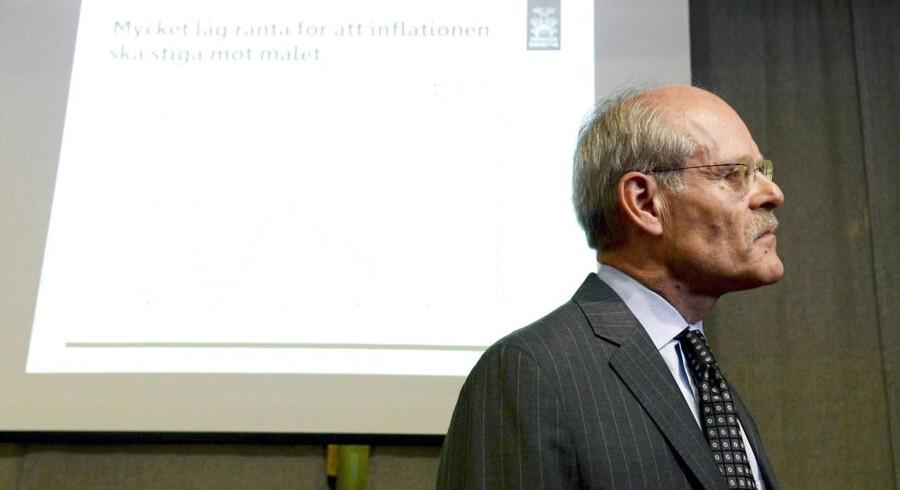 Riksbankens chef, Stefan Ingves. Arkivfoto.