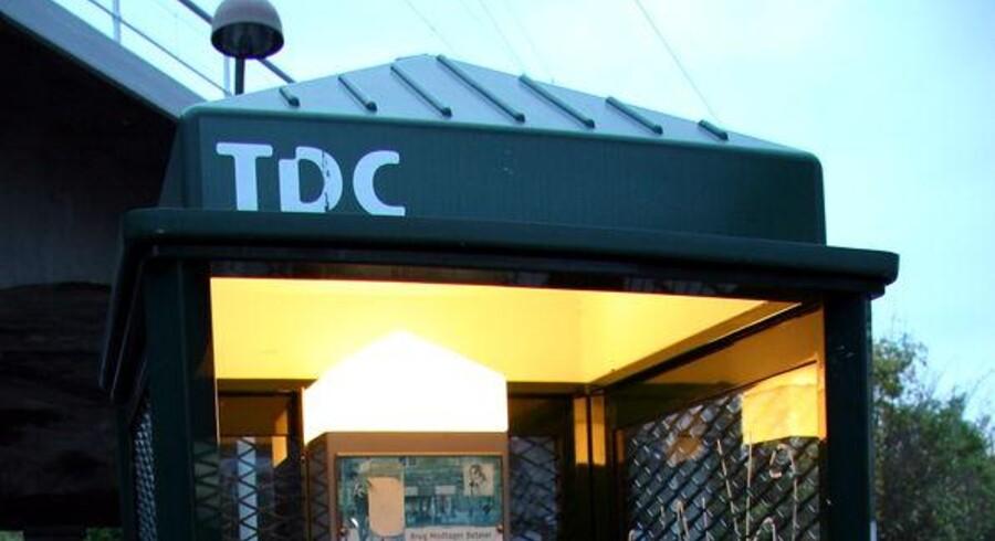 TDC-teknikere på Sjælland gik hjem onsdag. Foto: Colourbox